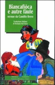 Biancafiòca e autre fàule - Camillo Brero - copertina