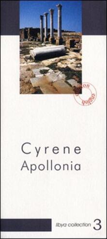 Cyrene Apollonia. Archeological guide - Maria Teresa Grassi - copertina