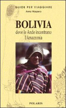 Bolivia - Anna Maspero - copertina