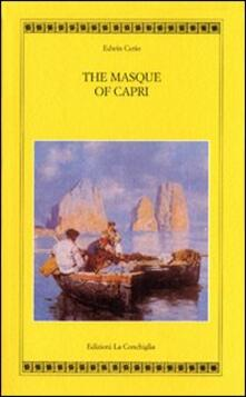 The masque of Capri - Edwin Cerio - copertina