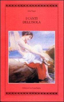 Canti dell'isola - Ada Negri - copertina