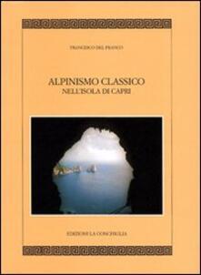 Alpinismo classico a Capri