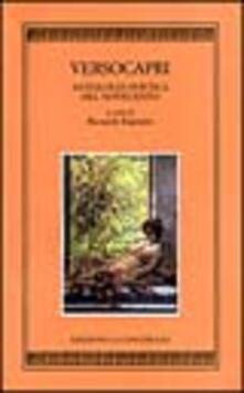 Versocapri. Antologia poetica del Novecento - copertina