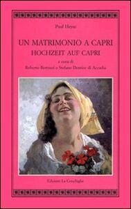 Un matrimonio a Capri-Hochzeit auf Capri