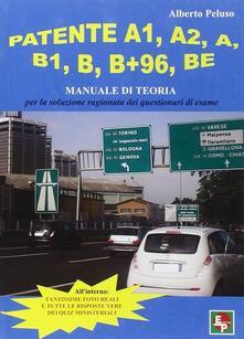 Daddyswing.es Patente A1, A2, A, B1, B, B+96, BE. Manuale di teoria per la soluzione dei questionari di esame Image