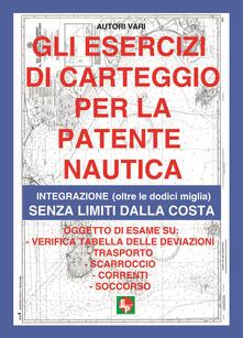 Antondemarirreguera.es Gli esercizi di carteggio per la patente nautica. Integrazione (oltre le dodici miglia) senza limiti dalla costa Image