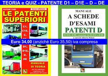 Camfeed.it Le patenti superiori. Teoria e quiz ministeriali per la patente D1, D1E, D, DE alla luce della normativa vigente Image