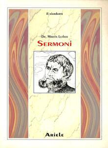 Sermoni - Martin Lutero - copertina