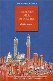 L' amata mia di pietra. Elegie senesi - Arrigo Pecchioli - copertina