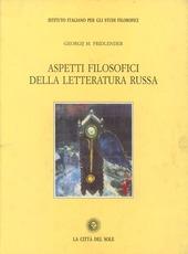 Aspetti filosofici della letteratura russa