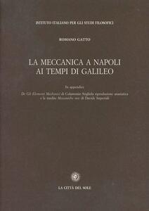 La meccanica a Napoli ai tempi di Galileo