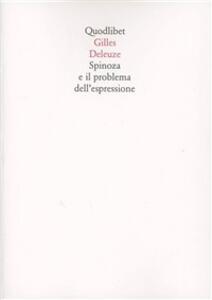 Spinoza e il problema dell'espressione