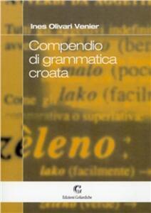 Compendio di grammatica croata