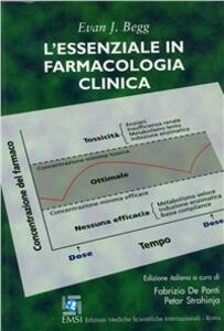 L' essenziale in farmacologia clinica