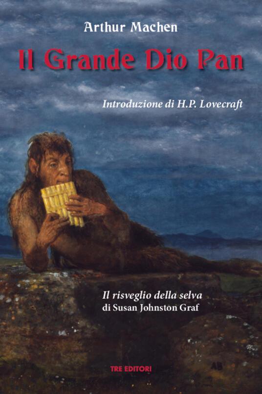 Il grande Dio Pan - Arthur Machen - copertina