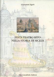 Aboutschuster.de Festa, teatro, rito nella storia di Sicilia Image