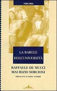 La babele dell'università. Un confronto fra Italia ed Europa