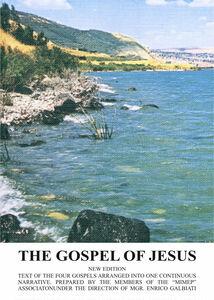 Foto Cover di The gospel of Jesus, Libro di Enrico Galbiati, edito da Ist. San Gaetano