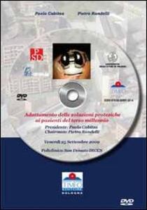 Adattamento delle soluzioni protesiche del ginocchio ai pazienti del terzo millennio. DVD