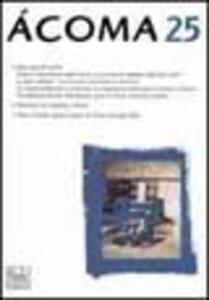 Acoma. Rivista internazionale di studi nordamericani. Vol. 25
