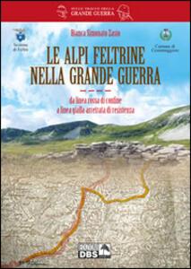 Le alpi feltrine nella grande guerra. Da linea rossa di confine a linea gialla arretrata di resistenza