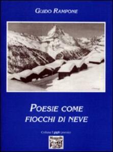 Poesie come fiocchi di neve