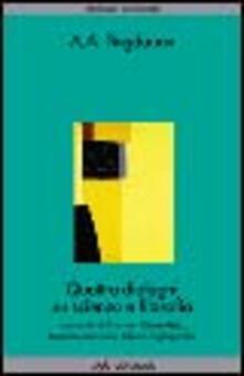 Voluntariadobaleares2014.es Quattro dialoghi su scienza e filosofia Image