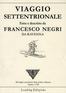 Viaggio settentrionale - Francesco Negri - copertina