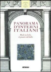 Panorama d'interni italiani. Made in Italy, il piacere del bello. Catalogo della mostra (Imola, 10 novembre 2001-13 gennaio 2002)