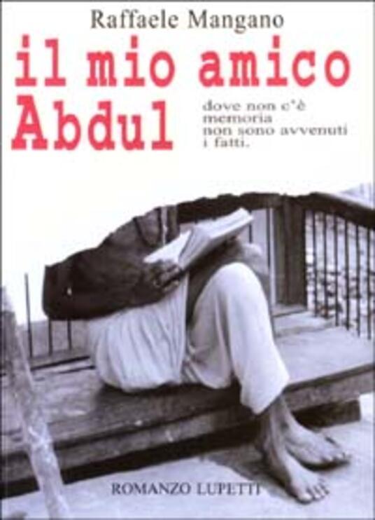 Il mio amico Abdul - Raffaele Mangano - copertina