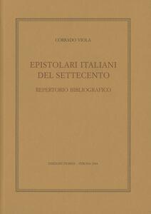 Epistolari italiani del Settecento