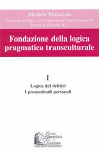 Fondazione della logica pragmatica transculturale