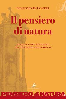 Il pensiero di natura. Dalla psicoanalisi al pensiero giuridico - Giacomo B. Contri - ebook