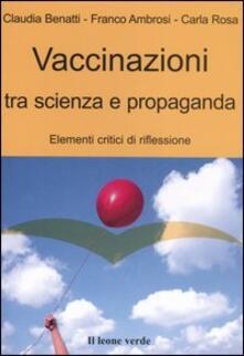 Radiospeed.it Vaccinazioni tra scienza e propaganda. Elementi critici di riflessione Image