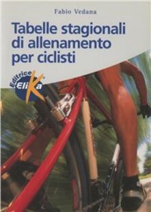 Capturtokyoedition.it Tabelle stagionali di allenamento per ciclisti Image