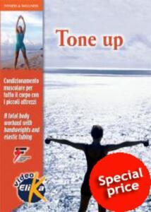 Tone up. Condizionamento muscolare per tutto il corpo con i piccoli attrezzi. Ediz. italiana e inglese. DVD - David Stauffer - copertina