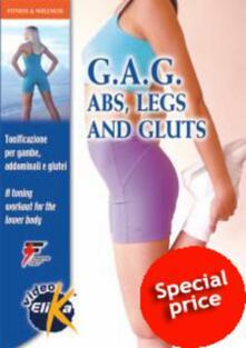 Daddyswing.es G.A.G. Abs, legs and gluts. Tonificazione per gambe, addominali e glutei. Con DVD Image