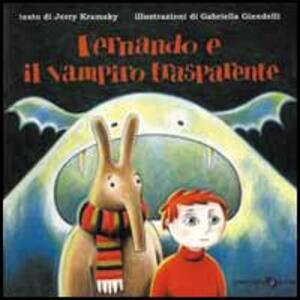 Fernando e il vampiro trasparente - Jerry Kramsky - copertina