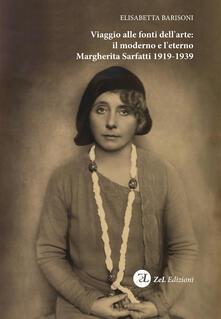 Ristorantezintonio.it Viaggio alle fonti dell'arte: il moderno e l'eterno. Margherita Sarfatti 1919-1939 Image