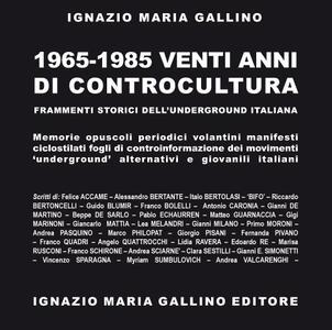 1965-1985. Venti anni di controcultura - copertina