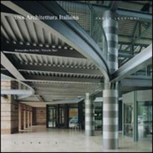 Una architettura italiana - Paolo Luccioni - copertina