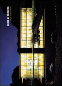 Georg W. Reinberg. Solar architecture - copertina