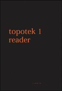 Topotek 1 Reader. Ediz. italiana e inglese - copertina