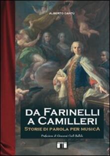 Radiospeed.it Da Farinelli a Camilleri. Storie di parola per musica Image