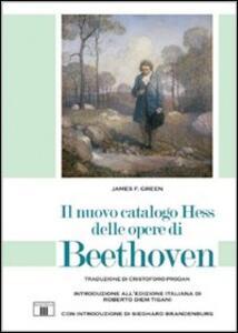 Il nuovo catalogo Hess delle opere di Beethoven - F. James Green - copertina