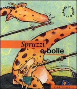 Spruzzi e bolle. Un divertente risveglio nella savana