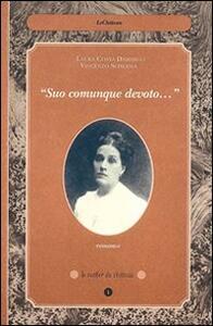 Suo comunque devoto - Laura Costa Damarco,Vincenzo Scherma - copertina
