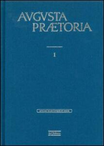 Augusta Praetoria (rist. anast.) - copertina