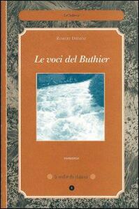 Le voci del Buthier - Robert Diémoz - copertina