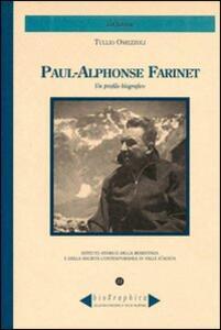 Paul-Alphonse Farinet. Un profilo biografico - Tullio Omezzoli - copertina